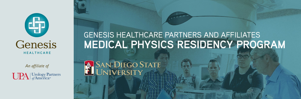 Genesis Healthcare Partners and Affiliates Medical Physics Residency Program